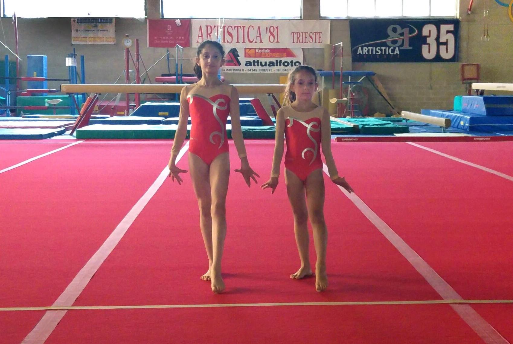 La gymnasia ospite del centro olimpico di triestesociet for Piscina e maschile o femminile